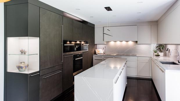 Concrete Modern Kitchen