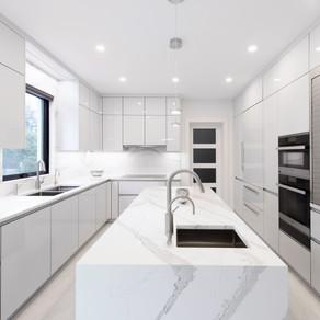 Wintery Kitchen