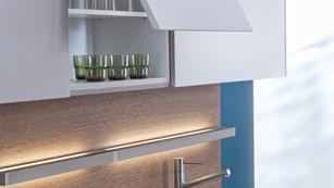 Motorized Upper Kitchen Cabinet