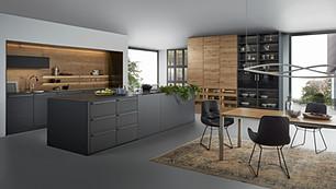 BONDI Modern Dark Cabinetry