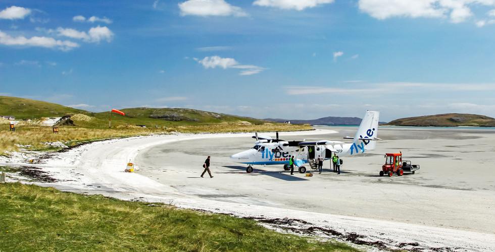 Barra Airport, Traigh Mhor Beach, Isle o