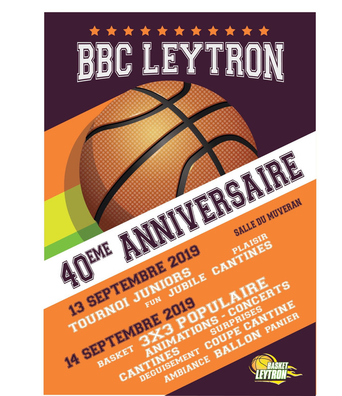 40e anniversaire du BBCLEYTRON