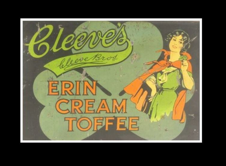 Cleeves Cream Toffee advertisement
