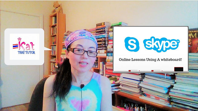 Learn Thai via Skype,Fun and interactive Tha lessons from £12