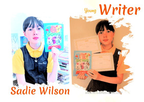 Sadie -young writer in colour-small size
