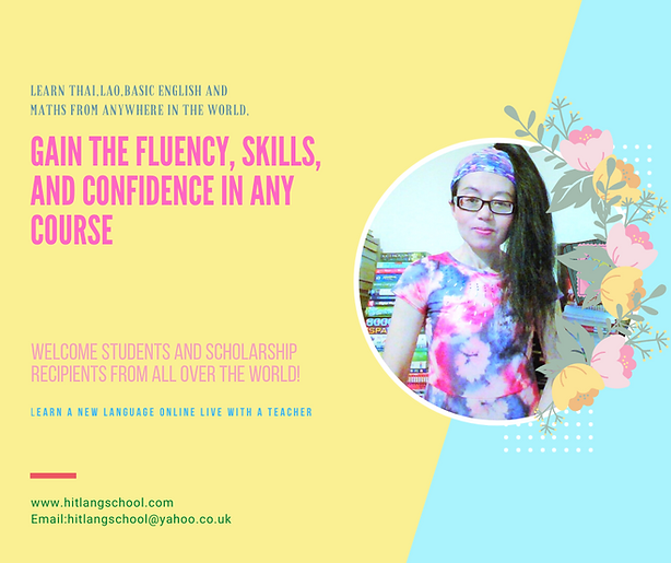 Learn Thai -Lao- English or maths with a tutor near you.Thai lessons from £10 per hour -Best Thai teacher in Manchester,UK
