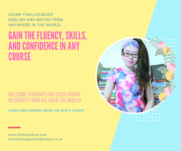 Kat Wilson -Thai teacher in UK.Best Thai teacher,Online Thai and Lao teacher for students all over the world