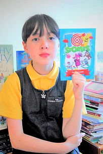 Sadie Wilson -a published author,young writer,hit Lang School's writer,learn to write poetry and story at Hit Lang School,creative writing for children,English lessons.