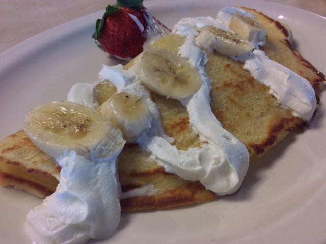 Breakfast - Banana Crepe