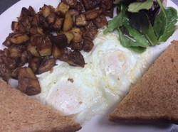 Breakfast - Eggs and Toast