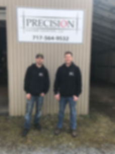 Precision Custom Couners, LLC Owners and Operators