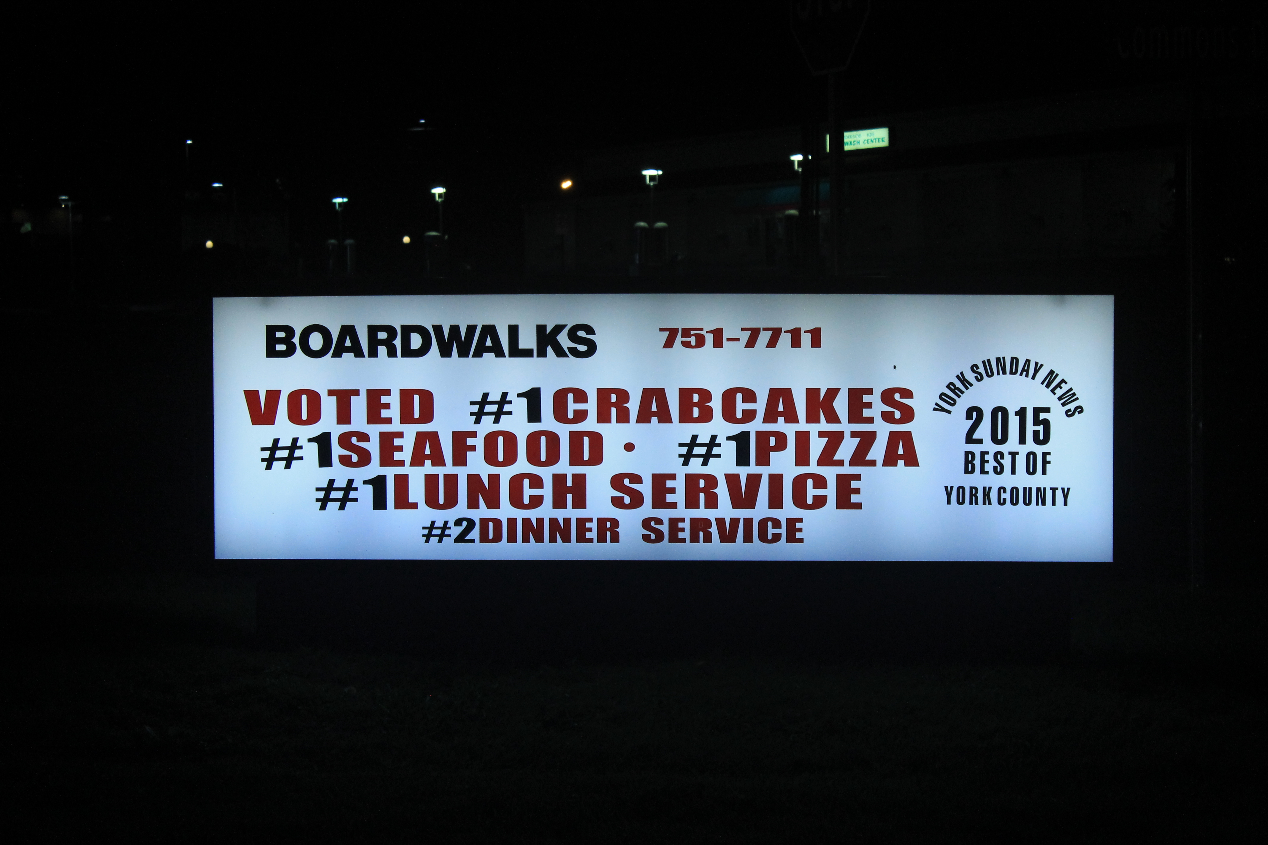 Exterior - 2015 Sign