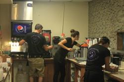 Employees - Servers Working