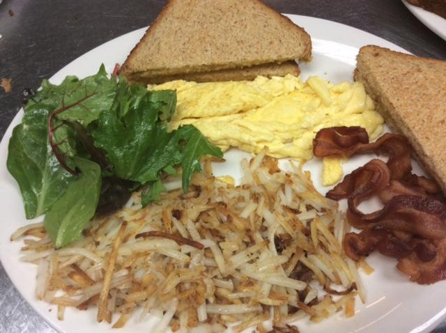 Breakfast - Eggs and Toast 1