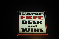 Exterior - Boardwalks Sign