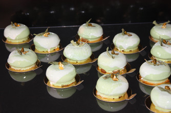 Entremets orange/verveine