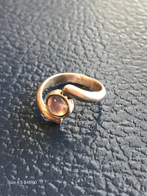 Moonstone & Silver RIng