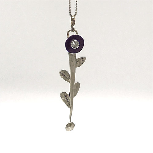 Flower Stem Pendant
