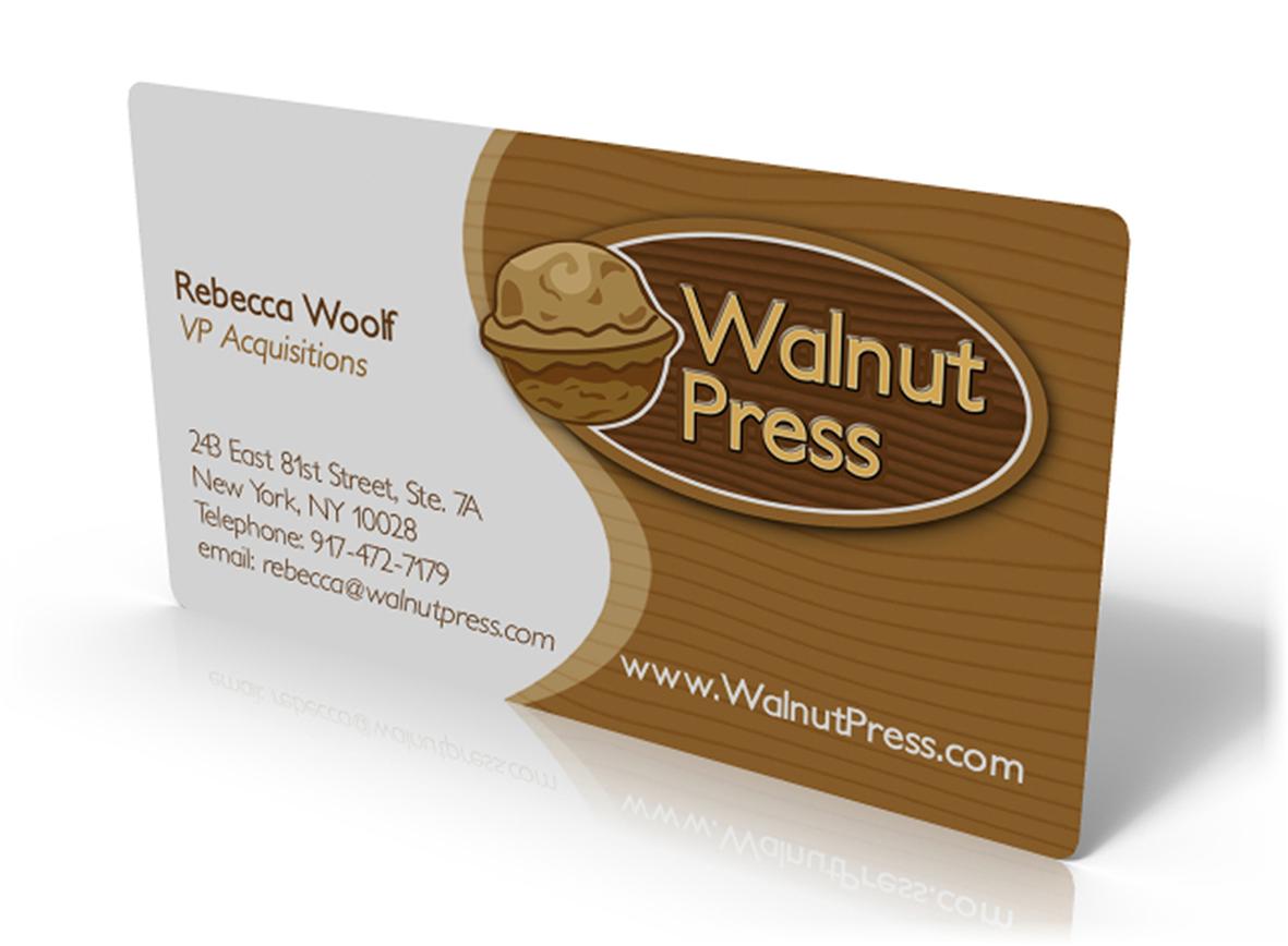 Walnut Press, Business card