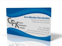 Business card, Centro Podológico