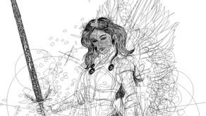 Ángel guerrera - Nueva ilustración
