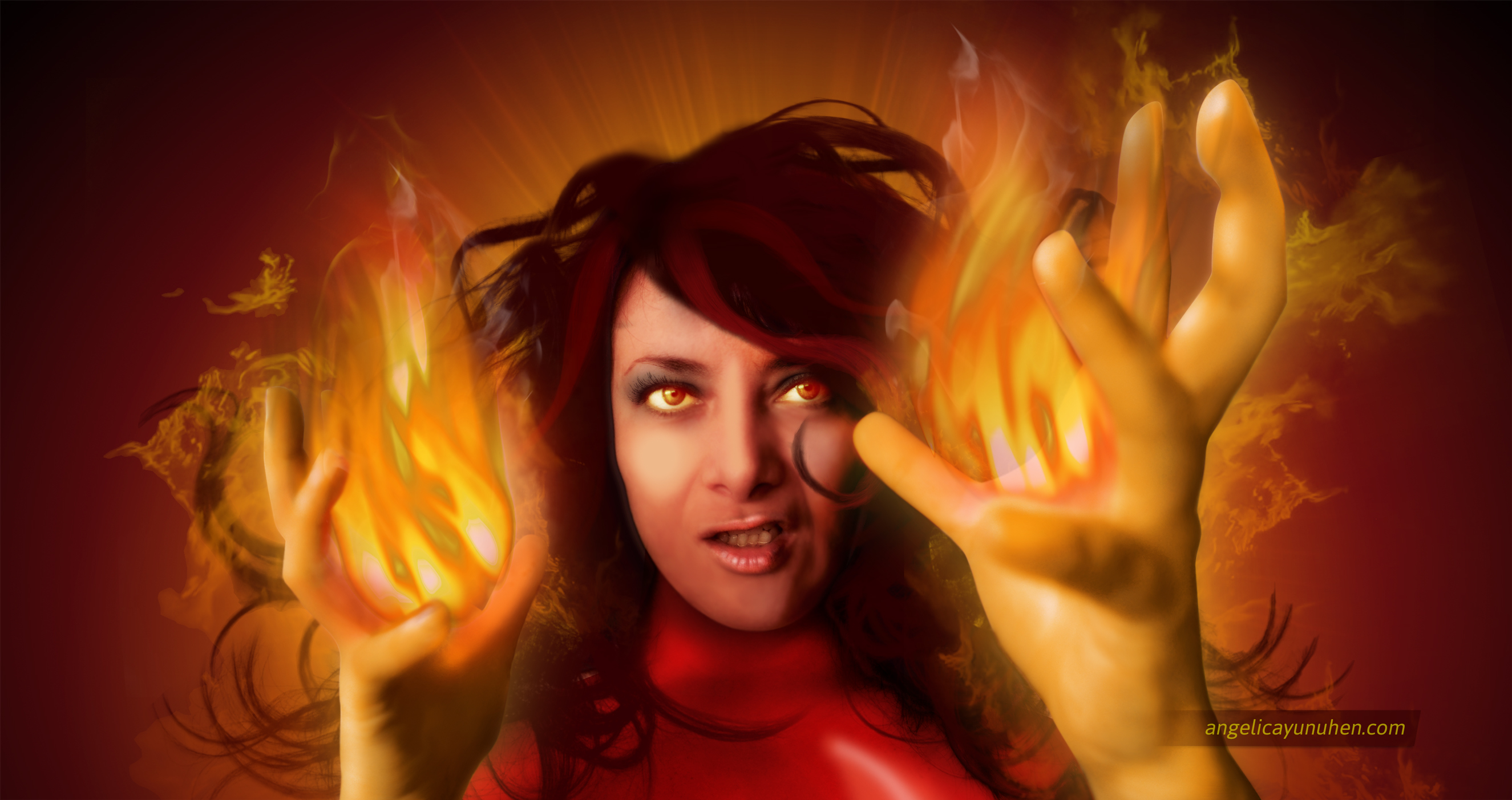 Myself as Dark Phoenix