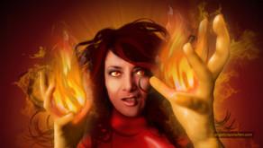 Yo como Jean Grey o Dark Phoenix de Marvel Comics ;)