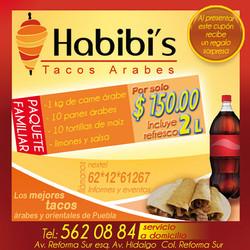 Habibi's flyer