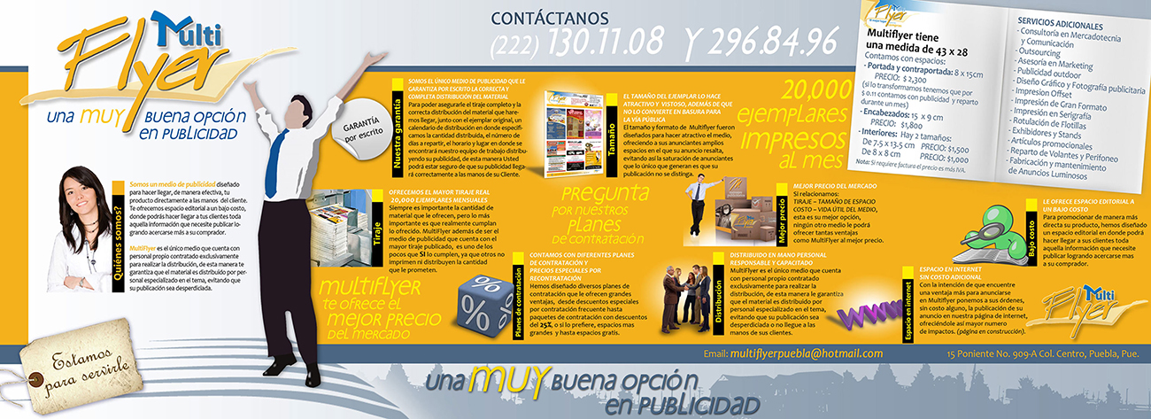 Brochure, Multiflyer