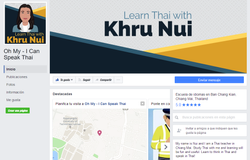 Learn Thai Facebook page coverdesign