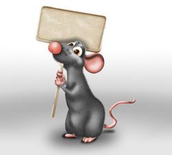 Little mouse mascot