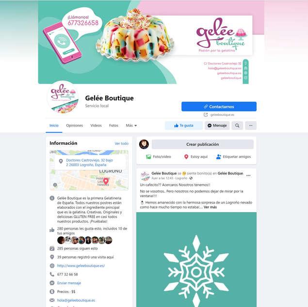 Web banner & Social media