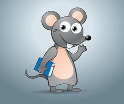 Ratón estudioso