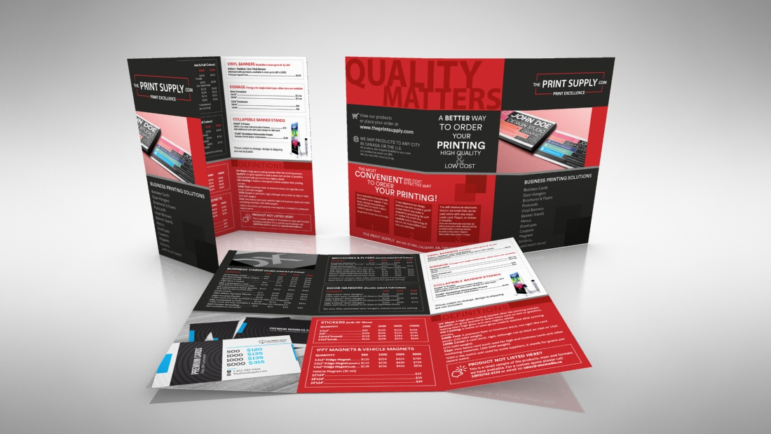 Brochure for Theprintsupply,com