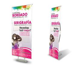 Banner stand, Mensajes Publicitarios