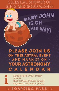 Babyshower invitation