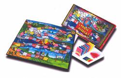 PONTE ALERTA Table game & packaging