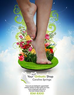 Brochure, Orthotic Shop