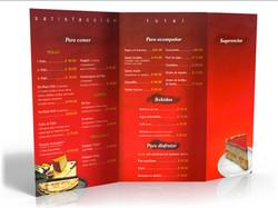 Menu, Ghal Restaurant