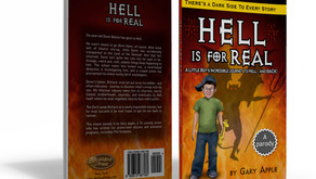 Hell is for real - Book design