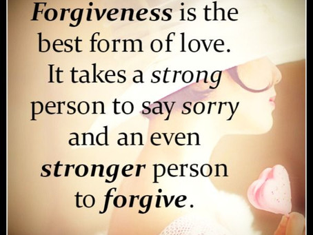 Give yourself the gift of forgiveness