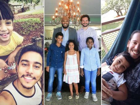 Gay, pai e muito feliz: uma série de histórias de amor I