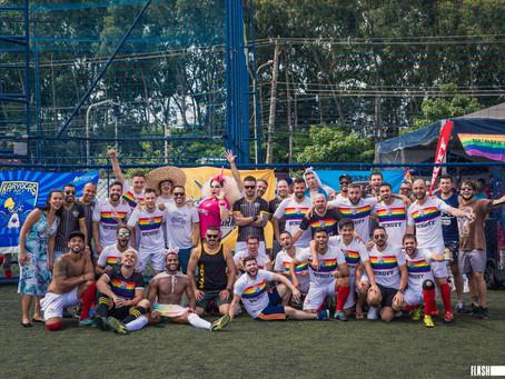 Unicorns Brazil estreia novo uniforme em parceria com SCRUFF na Champions LiGay SP