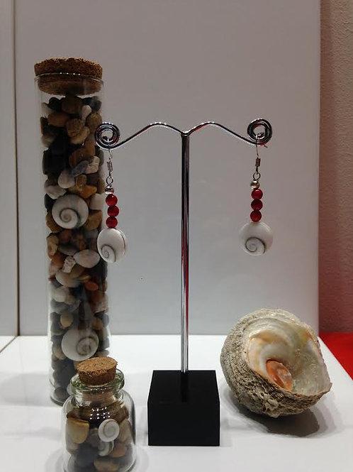 Boucles oeil de shiva et boules gorgone