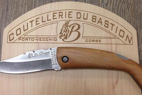couteau de berger bois d'olivier