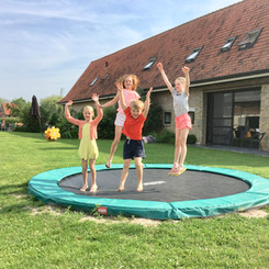 Hof ter Lo trampoline