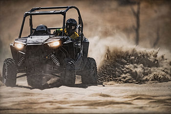 Stunt double driver Polaris RZR