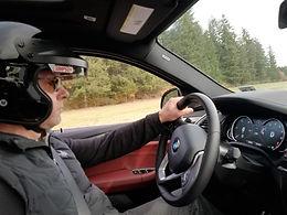 stunt driver, BMW X6 M