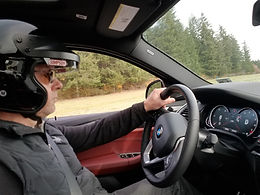 Arnold Korbmacher, BMW driving experience at Pacific Raceways in Kent WA