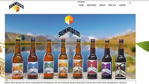 Die neue Website der Braurei Sunnegg ist online